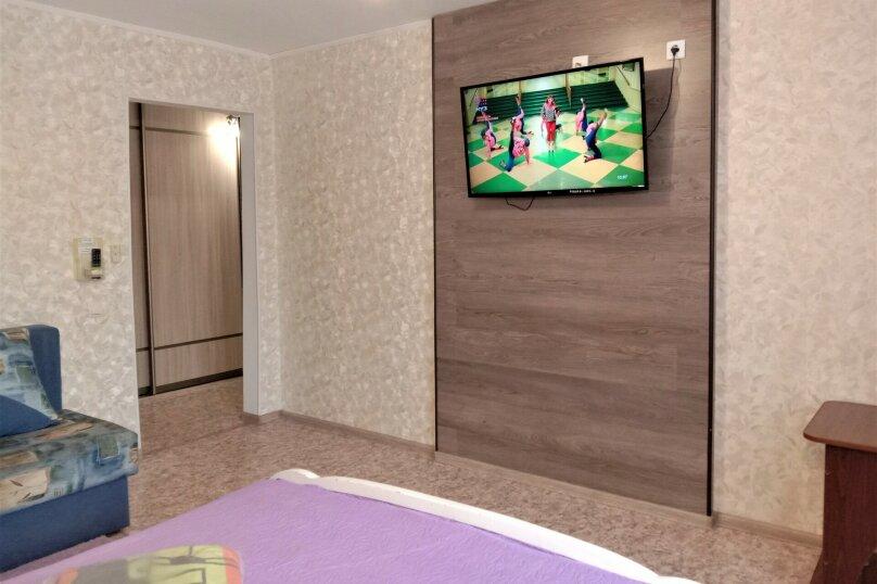 1-комн. квартира, 35 кв.м. на 4 человека, Краснореченская улица, 189, Хабаровск - Фотография 4
