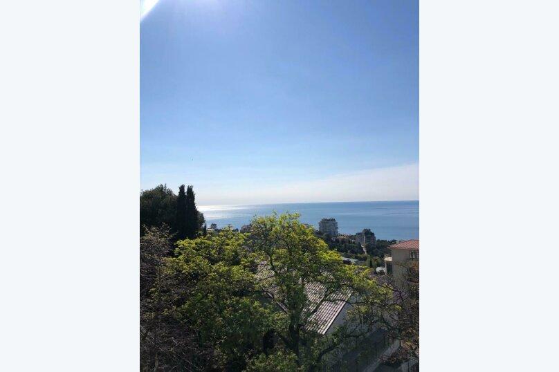 Верхний этаж дома с панорамным видом на море и отдельным входом, 133 кв.м. на 6 человек, 2 спальни, Севастопольское шоссе, 54 Е, Гаспра - Фотография 53
