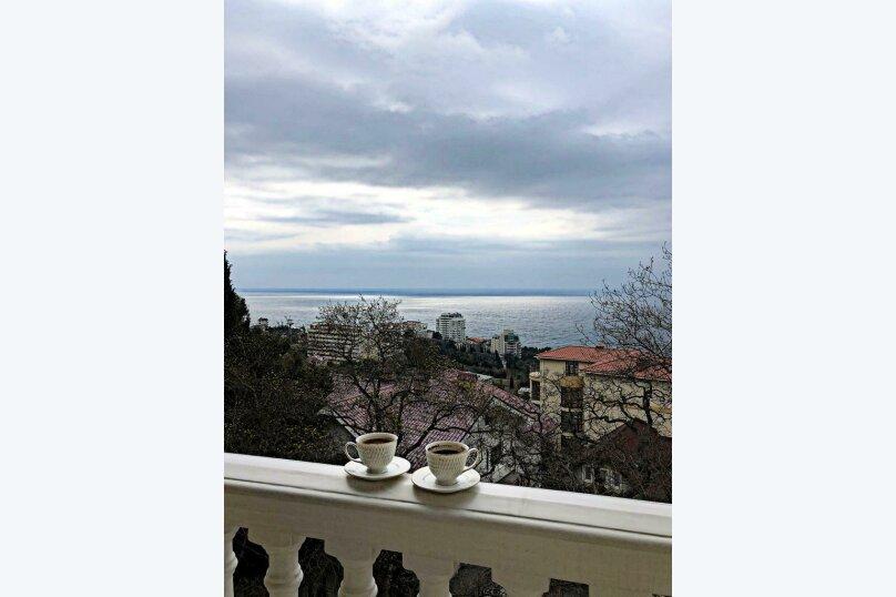 Верхний этаж дома с панорамным видом на море и отдельным входом, 133 кв.м. на 6 человек, 2 спальни, Севастопольское шоссе, 54 Е, Гаспра - Фотография 54