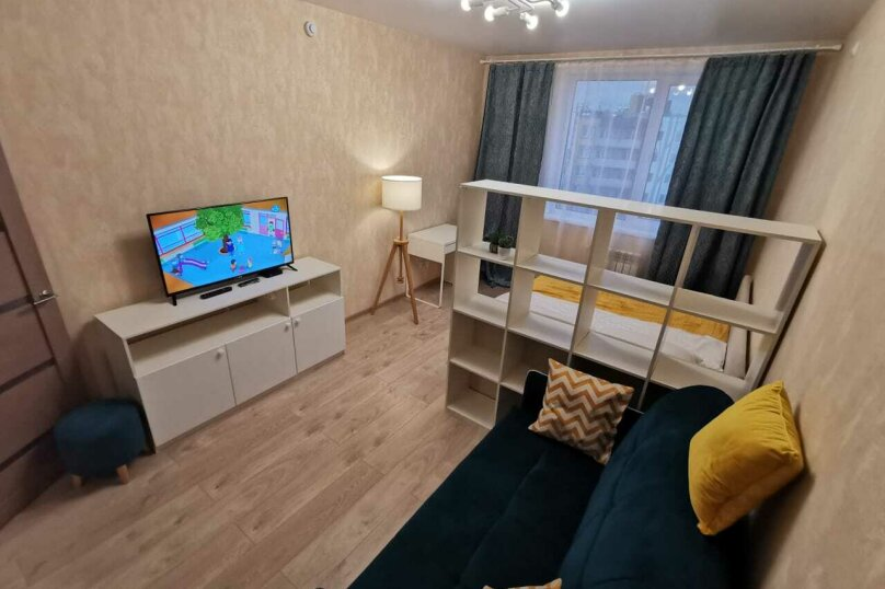 1-комн. квартира, 38.6 кв.м. на 4 человека, Оснабрюкская улица, 12, Тверь - Фотография 3