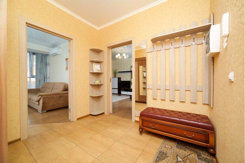 2-комн. квартира, 55 кв.м. на 6 человек, улица Будённого, 129, Краснодар - Фотография 14