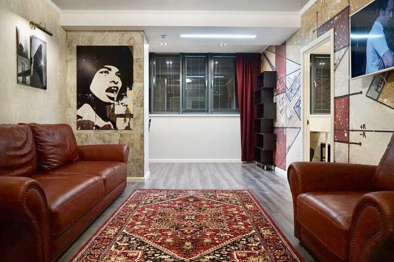 2-комн. квартира, 55 кв.м. на 4 человека, улица Будённого, 129, Краснодар - Фотография 1
