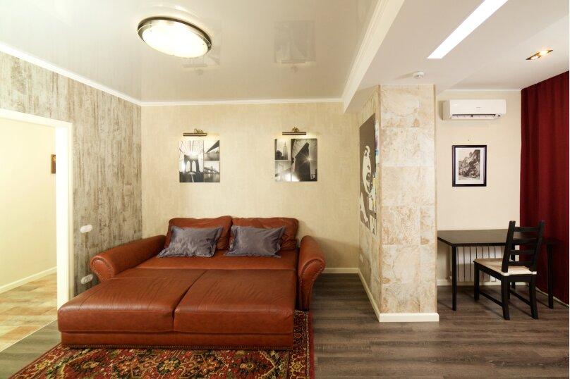 2-комн. квартира, 55 кв.м. на 4 человека, улица Будённого, 129, Краснодар - Фотография 2