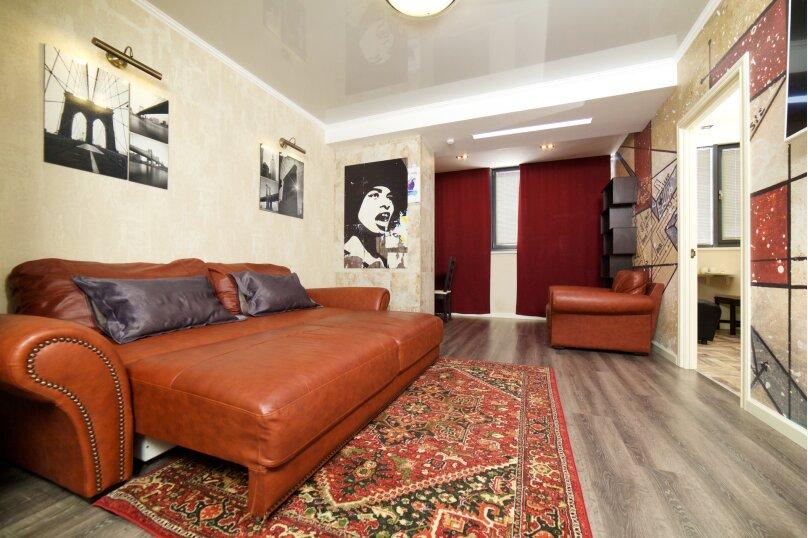 2-комн. квартира, 55 кв.м. на 4 человека, улица Будённого, 129, Краснодар - Фотография 3