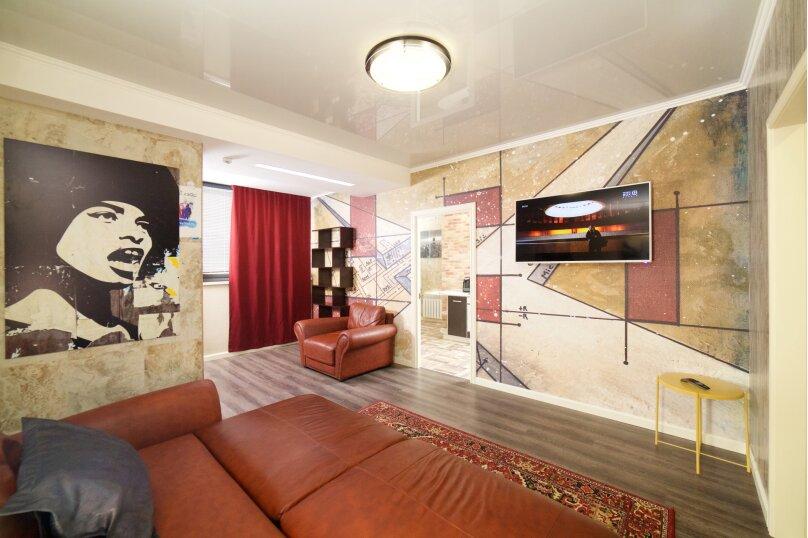 2-комн. квартира, 55 кв.м. на 4 человека, улица Будённого, 129, Краснодар - Фотография 4