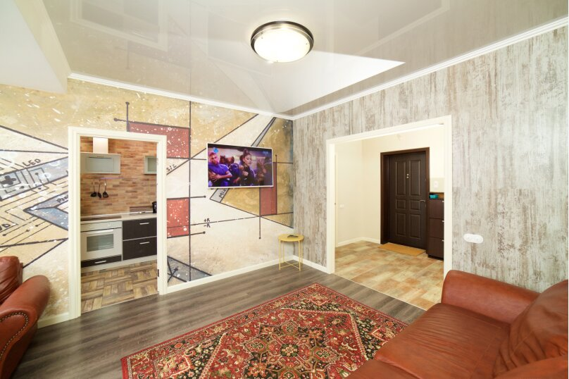 2-комн. квартира, 55 кв.м. на 4 человека, улица Будённого, 129, Краснодар - Фотография 5