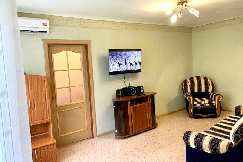 2-комн. квартира, 48 кв.м. на 3 человека, улица Нагишкина, 7, Хабаровск - Фотография 1