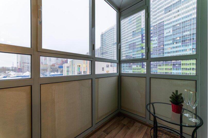 1-комн. квартира, 26 кв.м. на 4 человека, проспект Энергетиков, 11к5, Санкт-Петербург - Фотография 11