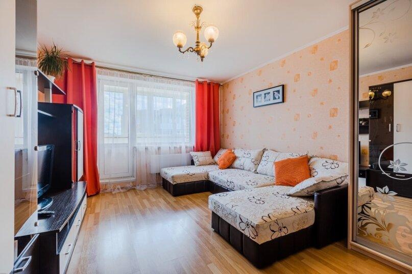 1-комн. квартира, 37 кв.м. на 4 человека, Красносельское шоссе, 14к1, Пушкин - Фотография 1