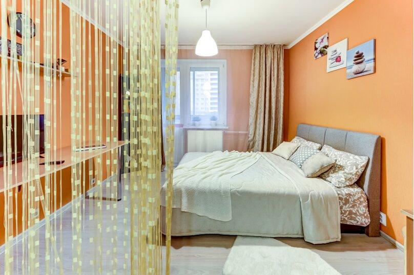 1-комн. квартира, 30 кв.м. на 2 человека, проспект Авиаконструкторов, 49, Санкт-Петербург - Фотография 9