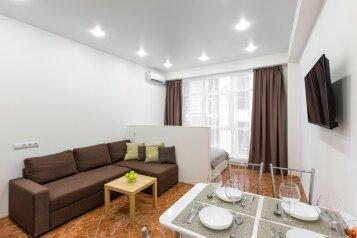 1-комн. квартира, 30 кв.м. на 4 человека, улица Белых Акаций, 11, Адлер - Фотография 1
