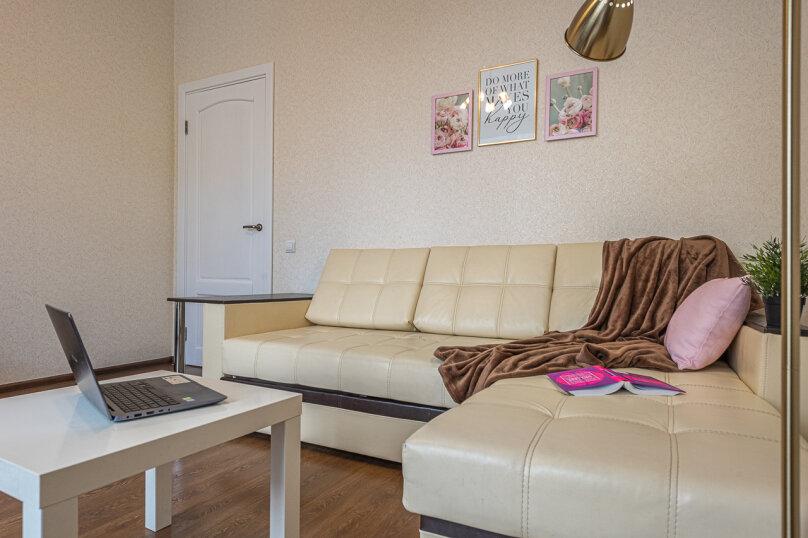 2-комн. квартира, 60 кв.м. на 4 человека, проспект Ленина, 53, Екатеринбург - Фотография 14