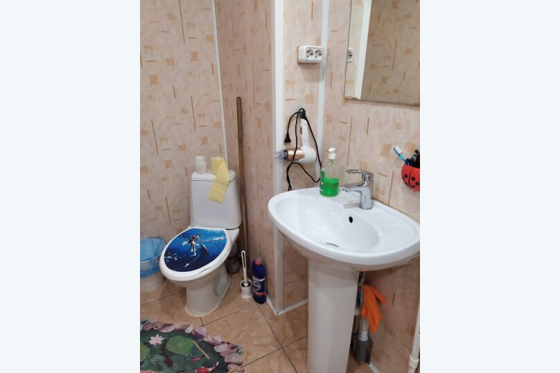 Гостевой коттедж на 8 гостей, 80 кв.м. на 8 человек, 2 спальни, улица Пирогова, 16А, Шерегеш - Фотография 6