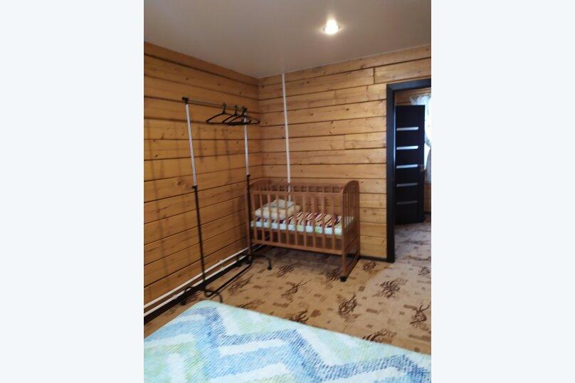 Гостевой коттедж на 8 гостей, 80 кв.м. на 8 человек, 2 спальни, улица Пирогова, 16А, Шерегеш - Фотография 13
