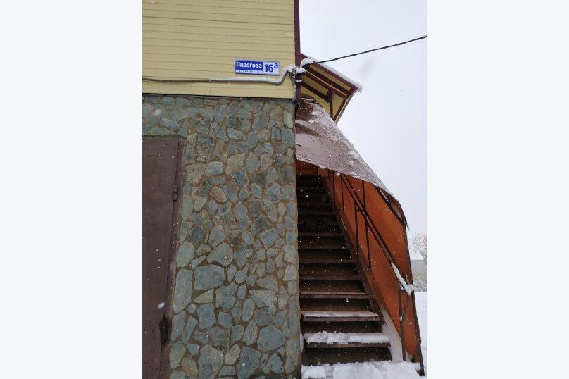Гостевой коттедж на 8 гостей, 80 кв.м. на 8 человек, 2 спальни, улица Пирогова, 16А, Шерегеш - Фотография 16
