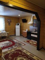 Гостевой коттедж на Пирогова у Аллы (8 гостей), 80 кв.м. на 8 человек, 2 спальни, улица Пирогова, 16А, Шерегеш - Фотография 1