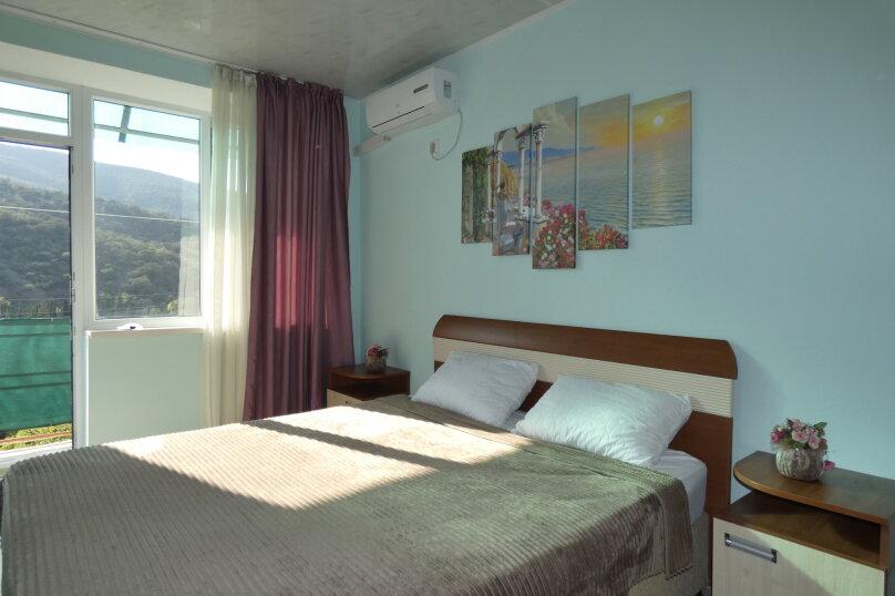 2-комнатный Семейный номер (4 местный) корпус Бригантина 2 этаж, Канакская балка, Курортная, 3, село Приветное - Фотография 1