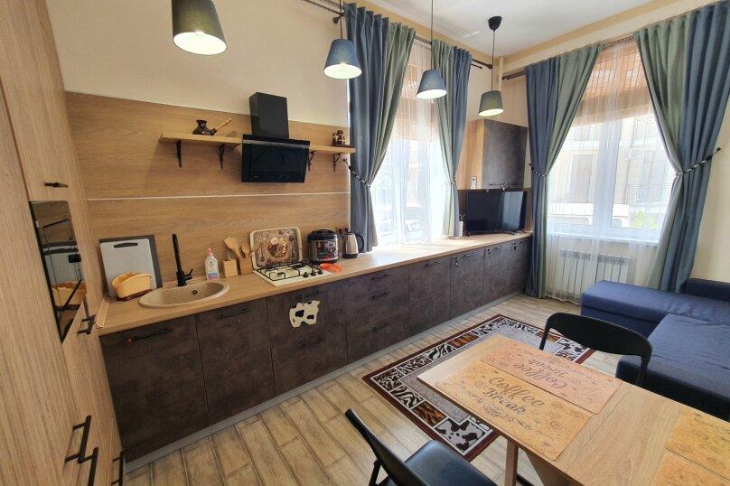1-комн. квартира, 44 кв.м. на 6 человек, Крымская улица, 22к2, Геленджик - Фотография 1