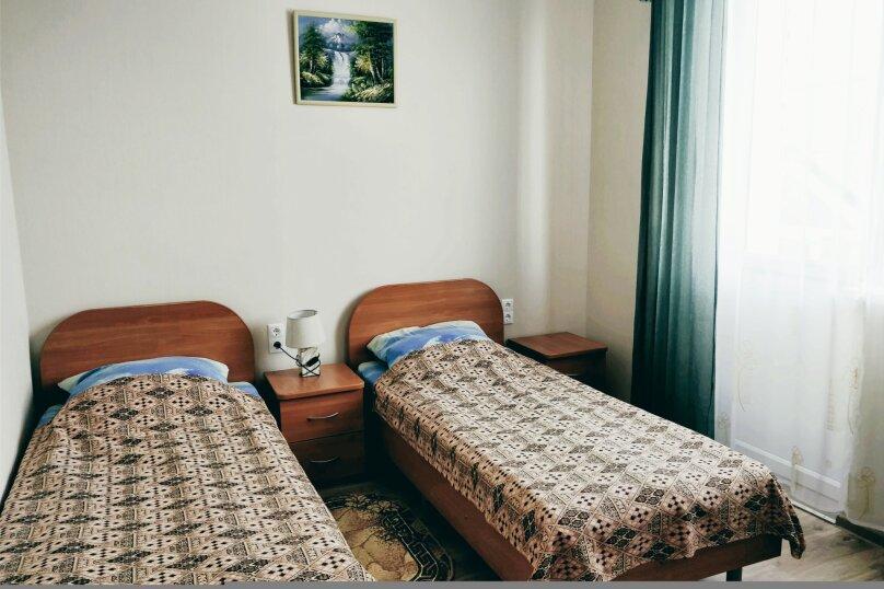 2 односпальные кровати, улица Дружбы, 5, Анапа - Фотография 2