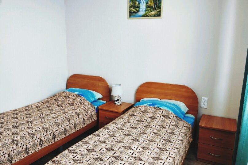 2 односпальные кровати, улица Дружбы, 5, Анапа - Фотография 4
