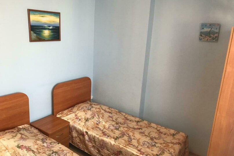 2 односпальные кровати, улица Дружбы, 5, Анапа - Фотография 5