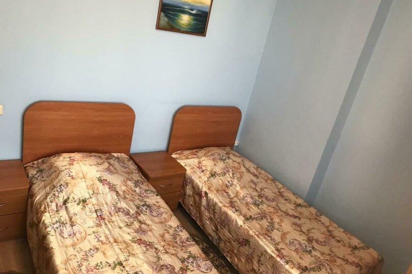 2 односпальные кровати, улица Дружбы, 5, Анапа - Фотография 6