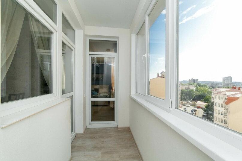 1-комн. квартира, 54 кв.м. на 3 человека, Камская улица, 29А, Симферополь - Фотография 14