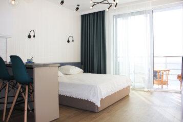 1-комн. квартира, 36 кв.м. на 3 человека, Морской спуск, 3, Отрадное, Ялта - Фотография 1