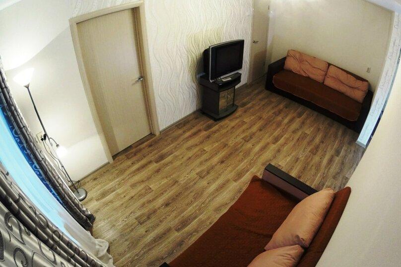 2-комн. квартира, 52 кв.м. на 5 человек, улица Блюхера, 16, Новосибирск - Фотография 3