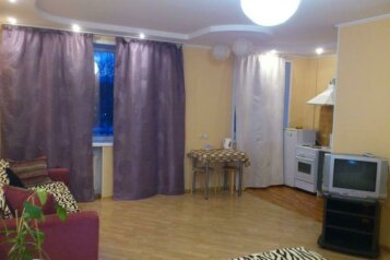 1-комн. квартира, 36 кв.м. на 4 человека, проспект Карла Маркса, 9, Новосибирск - Фотография 1