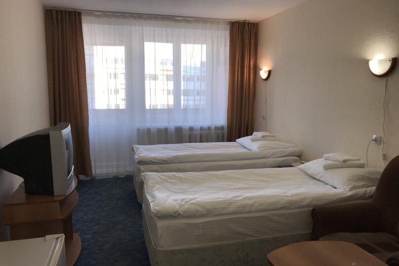 СТАНДАРТ с двумя двуспальными кроватями, Набережная улица, 9, Иваново - Фотография 1