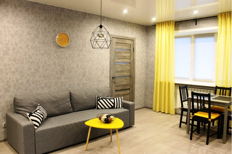 3-комн. квартира, 45 кв.м. на 6 человек, проспект Карла Маркса, 28, Новосибирск - Фотография 4