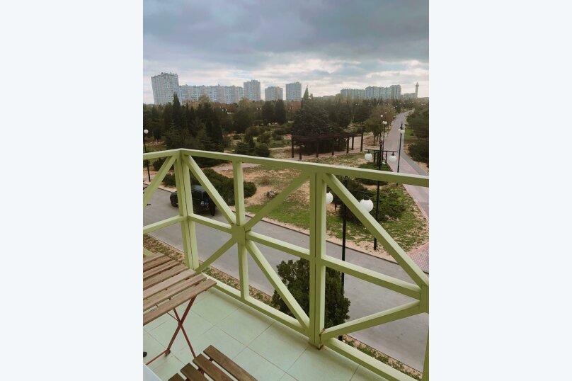 1-комн. квартира, 26 кв.м. на 3 человека, улица Лётчиков, 6, Севастополь - Фотография 3