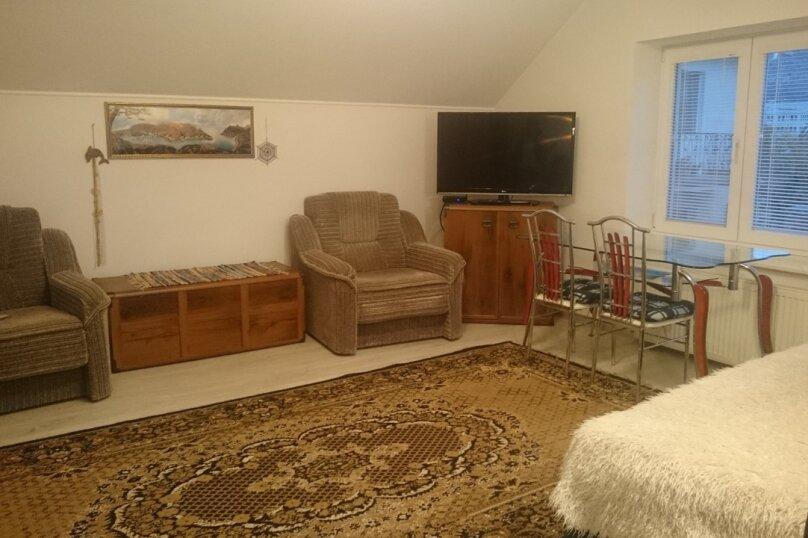 Стильный новый однокомнатный дом студия Люкс у моря в Балаклаве , 35 кв.м. на 3 человека, 1 спальня, Невская улица, 24, Балаклава - Фотография 22