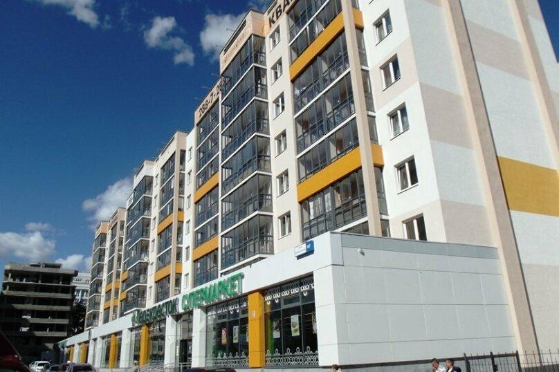 1-комн. квартира, 40 кв.м. на 4 человека, улица Степана Разина, 107, Екатеринбург - Фотография 7