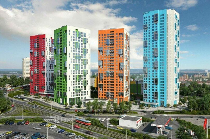 2-комн. квартира, 50 кв.м. на 6 человек, Трамвайный переулок, 2к4, Екатеринбург - Фотография 9