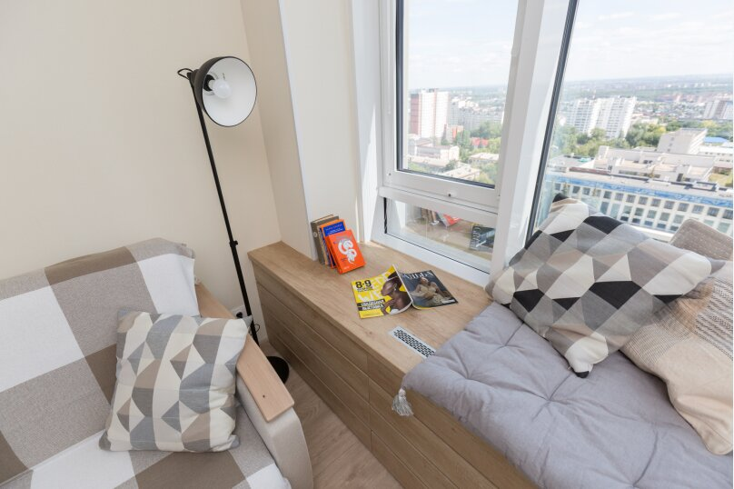 1-комн. квартира, 50 кв.м. на 4 человека, проспект Октября, 107А, Уфа - Фотография 10