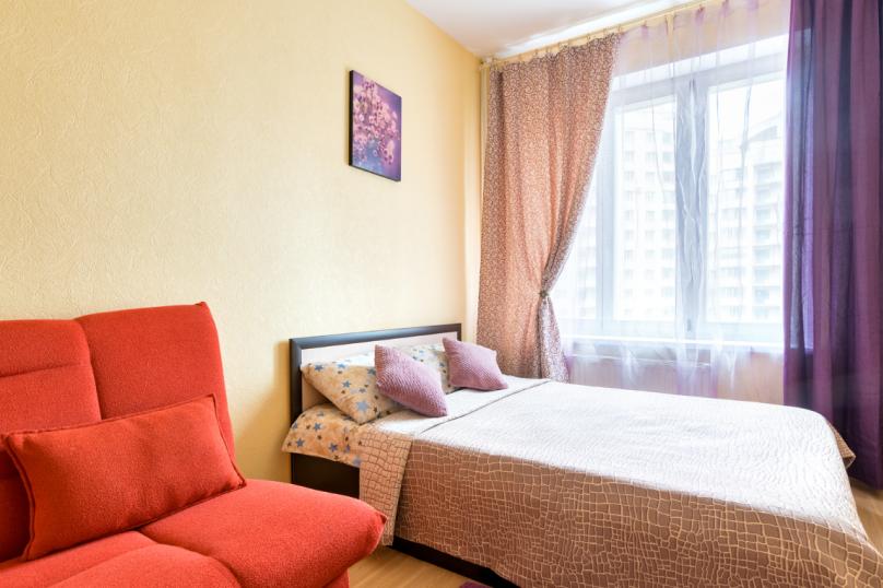 1-комн. квартира, 40 кв.м. на 4 человека, проспект Луначарского, 11к1, Санкт-Петербург - Фотография 2