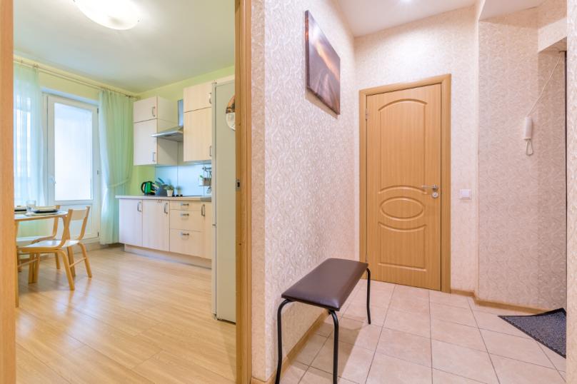 1-комн. квартира, 40 кв.м. на 4 человека, проспект Луначарского, 11к1, Санкт-Петербург - Фотография 10