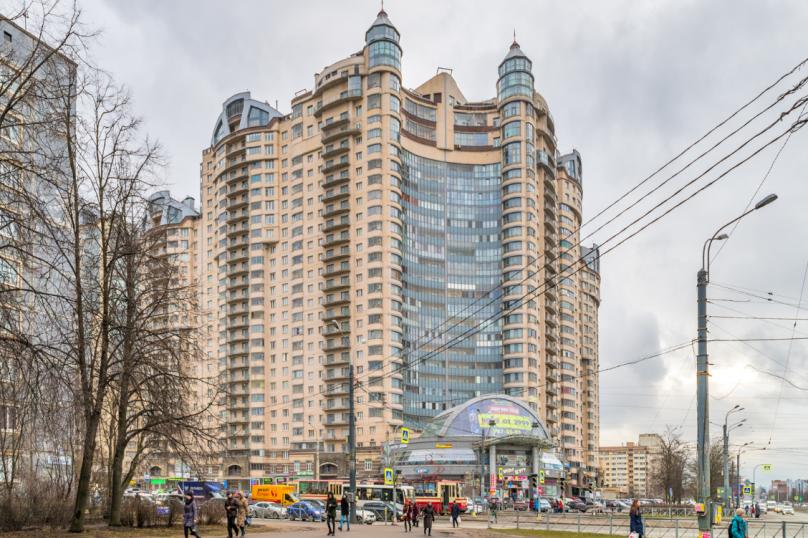 1-комн. квартира, 40 кв.м. на 4 человека, проспект Луначарского, 11к1, Санкт-Петербург - Фотография 16