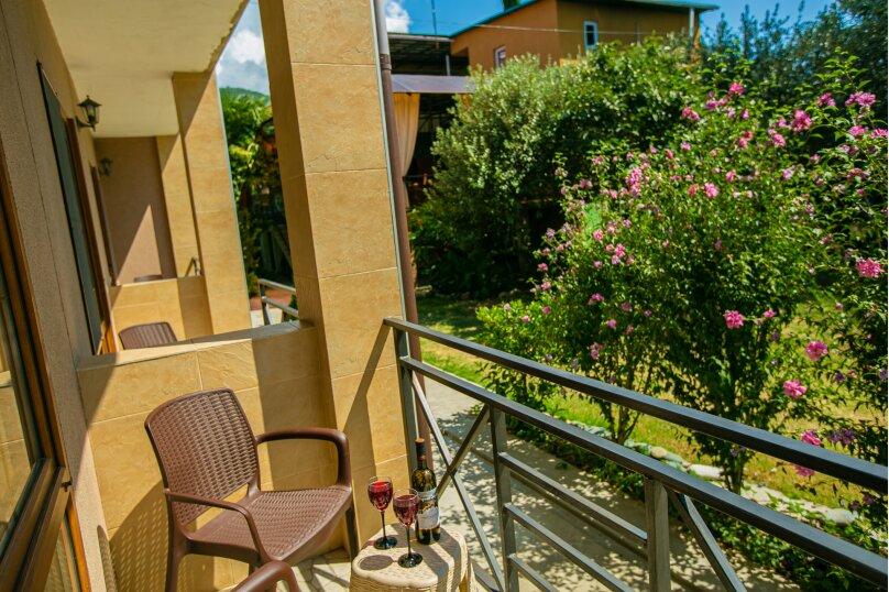 Люкс  с видом на бассейн 1 этаж , Октябрьская улица, 51, Цандрыпш - Фотография 6