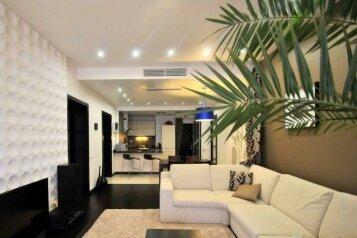 3-комн. квартира, 62 кв.м. на 5 человек, Алупкинское шоссе, 12Ж, Курпаты, Ялта - Фотография 1
