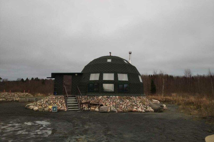 Купольный дом, Громовская наб., 1, Вознесенье - Фотография 1