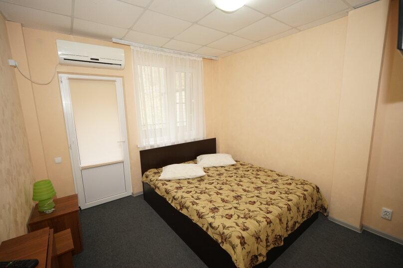 2х-местный стандарт с одной кроватью. Вид на горы.,  Ручейная, 271, Агой - Фотография 1