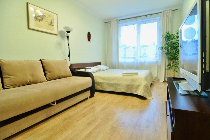 1-комн. квартира, 40 кв.м. на 4 человека, проспект Ветеранов, 169к1, Санкт-Петербург - Фотография 1