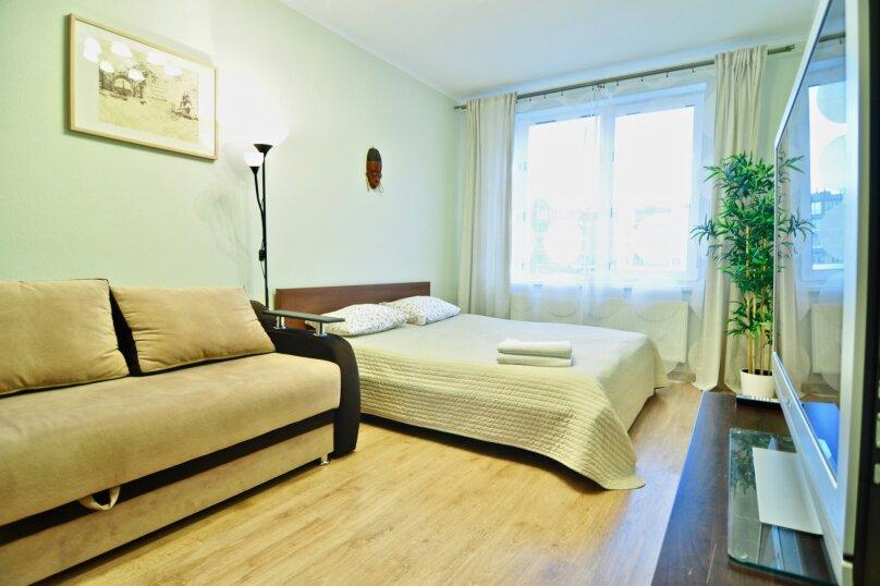 1-комн. квартира, 40 кв.м. на 4 человека, проспект Ветеранов, 169к1, Санкт-Петербург - Фотография 2