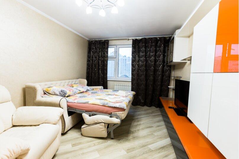 2-комн. квартира, 58 кв.м. на 4 человека, улица Борисовка, 16, Мытищи - Фотография 3