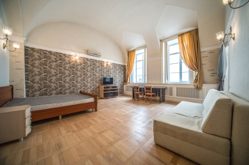1-комн. квартира, 35 кв.м. на 4 человека, Миллионная улица, 4/1Б, Санкт-Петербург - Фотография 1
