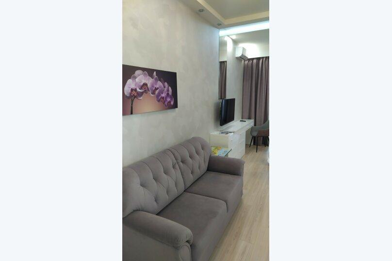 1-комн. квартира, 41 кв.м. на 4 человека, Парковая улица, 7, Севастополь - Фотография 2