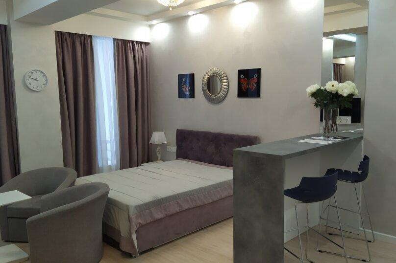 1-комн. квартира, 41 кв.м. на 4 человека, Парковая улица, 7, Севастополь - Фотография 1